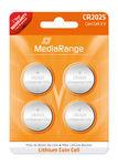 Pilhas de Lítio MediaRange Cell | CR2025 3V - Pack 4   - ONBIT