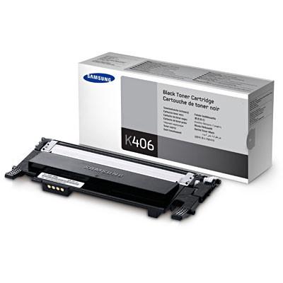 Toner Samsung Original CLT-K406S Preto (CLT-K406S/ELS)