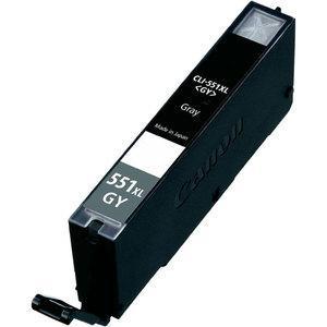 Tinteiro Canon Compatível CLI-551GY XL - cinza   - ONBIT