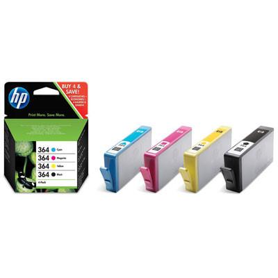 Pack Combo 4 Tinteiros HP 364 Originais   - ONBIT