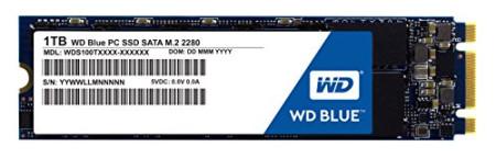 Disco SSD Western Digital Blue M.2 1TB  WDS100T1B0A - ONBIT