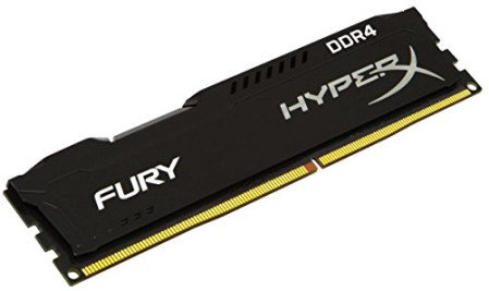 Memoria Kingston 8GB DDR4 2666MHz HyperX Fury Black (HX426C16FB3/8)