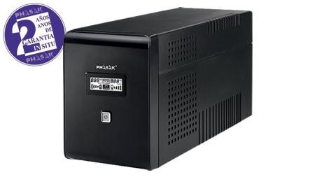 UPS Phasak 2000VA LCD USB com proteção RJ  PH9420 - ONBIT