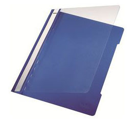 "Dossier Plástico Com Ferragem ""Fastener"" Azul   - ONBIT"
