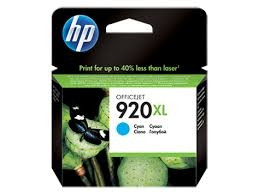 Tinteiro HP 920XL Ciano Original (CD972AE)   - ONBIT