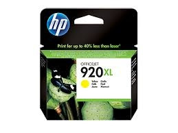 Tinteiro HP 920 XL Original Amarelo (CD974AE)   - ONBIT