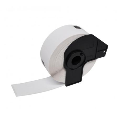 Etiquetas Compativeis Brother DK11203 17mm x 87mm pré-cortadas Papel térmico