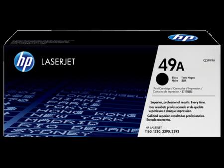 Toner HP LaserJet Original 49A Preto (Q5949A)