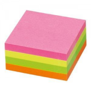 Bloco de Notas Adesivo 100 folhas MultiCores Info Notes 75x75 - Pack 12 unidades