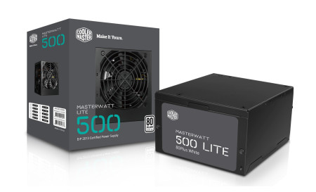 Fonte Cooler Master MasterWatt Lite 500W