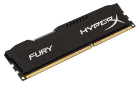 Kingston 8GB HyperX Fury DDR3 1866MHz Black (HX318C10FB/8)  HX318C10FB/8 - ONBIT