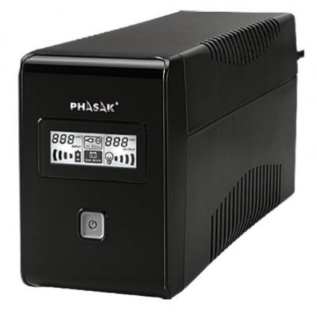 UPS Phasak 850VA LCD USB+RJ  PH9485 - ONBIT