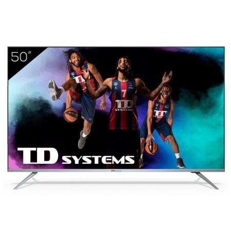 "Televisão TD Systems K50DLJ12US SmartTV 50"" 4K UHD Android"