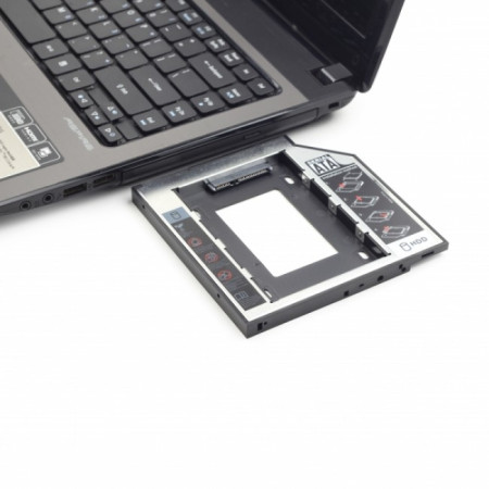 "Adaptador HDD/SSD Caddy 2,5"" para Drive Portatil 9.5 mm Z8tech"
