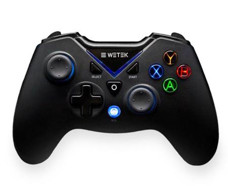 Gamepad Wetek s/ Fio para PC e Android