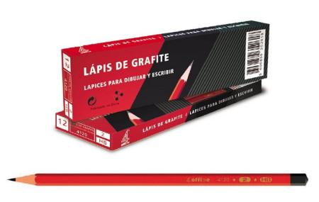 Lápis Grafite Nº 2 HB 4Office - Pack 12   - ONBIT