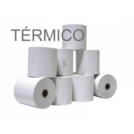 Rolos de Papel Térmico 4Office 60x60x11 - Pack 10