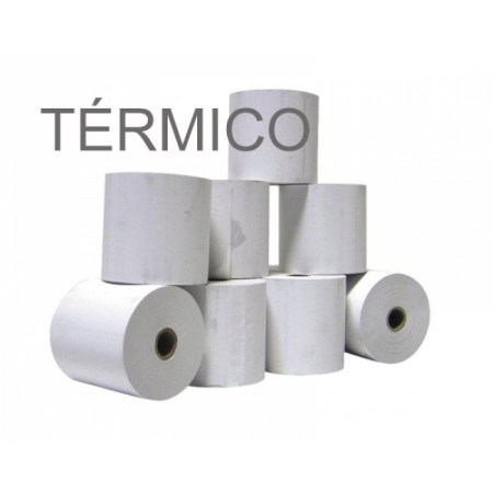 Rolos de papel 4Office térmico 80x80x11 - Pack 10   - ONBIT