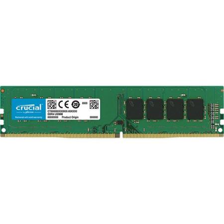 Memoria Crucial 16GB DDR4 2666MHz CL19 1.2V