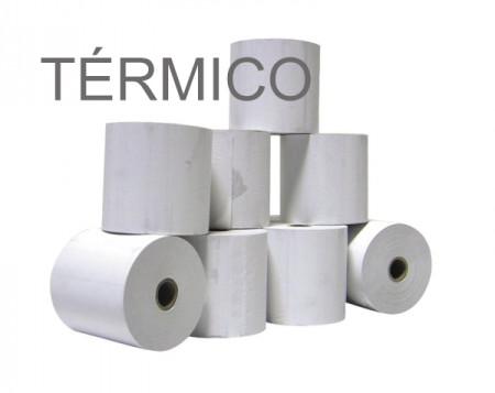 Rolos de papel 4Office térmico 110x40x11 - Pack 10