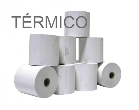 Rolos de papel 4Office térmico 57x70x11 - Pack 10   - ONBIT