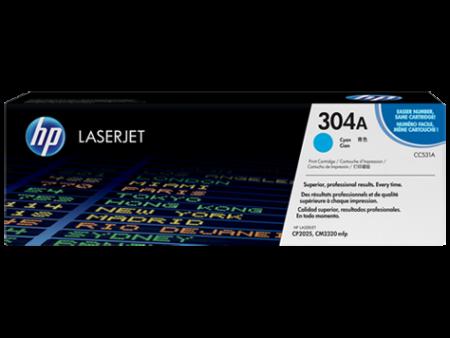 Toner HP LaserJet Original 304A Azul (CC531A)