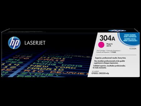 Toner HP LaserJet Original 304A Magenta (CC533A)