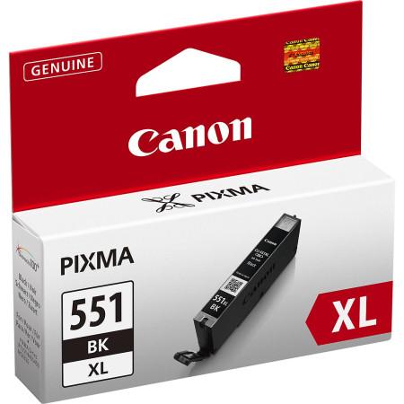 Tinteiro Canon CLI-551 BK XL Preto Original (6443B001)