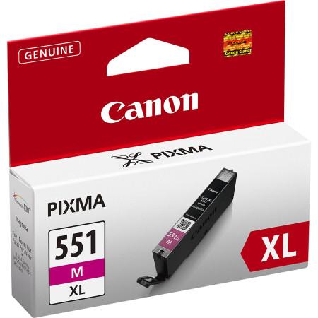 Tinteiro Canon CLI-551 M XL Magenta Original (6445B004)