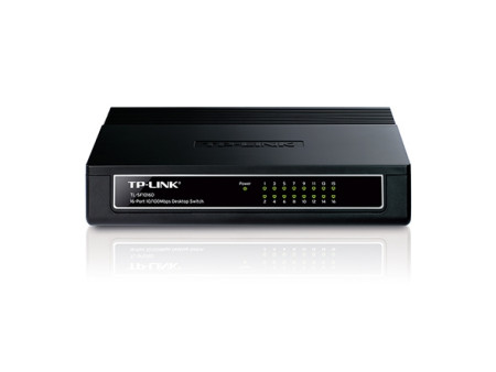 TP-Link Switch 16 Portas TP-Link 10/100 Mbps TL-SF1016D  1730502028 - ONBIT