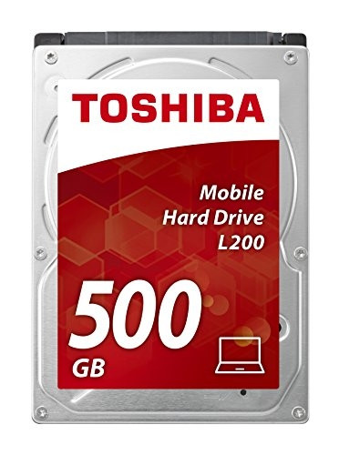 Disco Rígido Toshiba L200 500GB 2,5´ 5400RPM 8MB  HDWJ105EZSTA - ONBIT