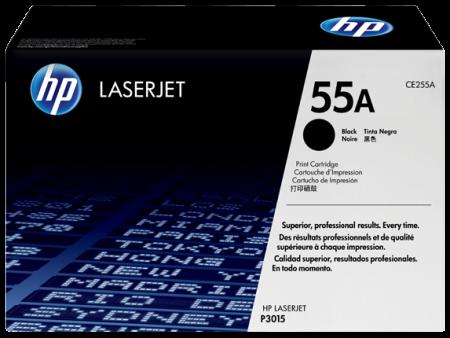Toner HP LaserJet Original 55A Preto (CE255A)