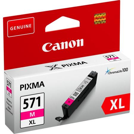 Tinteiro Canon CLI-571 M XL Magenta Original (0333C001)