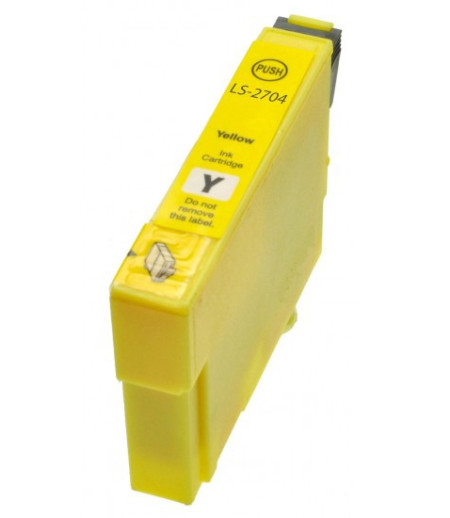 Tinteiro Compatível Epson 27 XL T2714 Amarelo  C13T27124010 - ONBIT