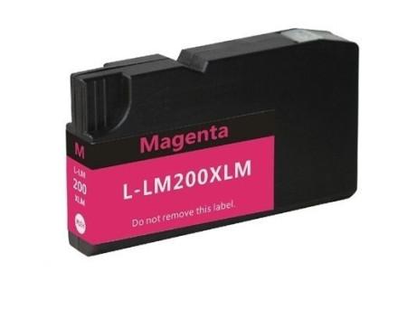 Tinteiro Lexmark Compatível  Nº 200 XL Magenta (14L0199)   - ONBIT