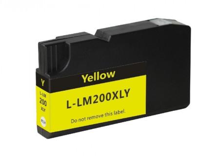 Tinteiro Lexmark Compatível Nº 200 XL Amarelo (14L0177)   - ONBIT