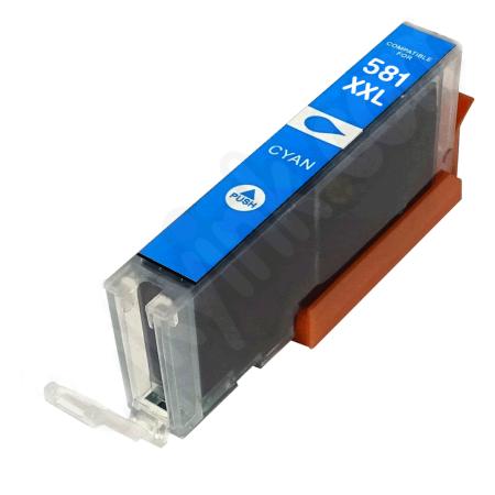 Tinteiro Canon Compatível CLI-581C XXL Azul