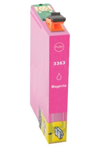 Tinteiro Compatível Epson 33 XL Magenta, T3363  C13T33634010 - ONBIT