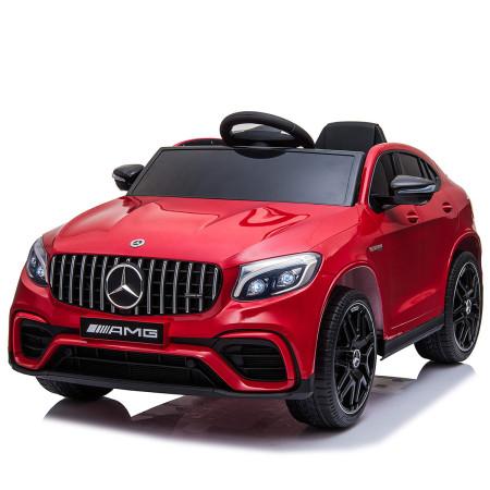 Carro Elétrico Mercedes AMG GLC 63S Coupe 12V Bateria c/ Comando Vermelho