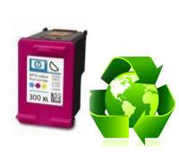 Tinteiro HP Reciclado Nº 300 XL tricolor (CC644EE)   - ONBIT