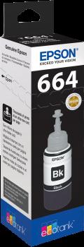 Recarga de Tinta Original Epson T6641 Preto (C13T664140)