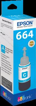 Recarga de Tinta 664 Original Epson T6642 Azul (C13T664240)