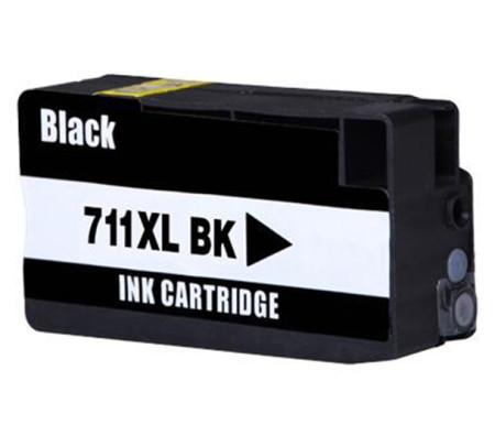 Tinteiro HP Compatível 711 XL Preto (CZ133A)