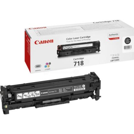 Toner Canon Original 718 Preto (2662B002)