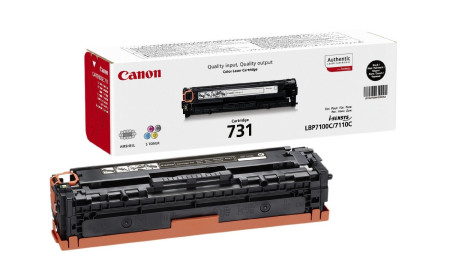 Toner Canon Original 731 Preto (6272B002)