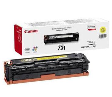 Toner Canon Original 731 Amarelo (6269B002)