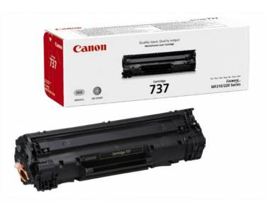 Toner Canon Original 737 Preto (9435B002)