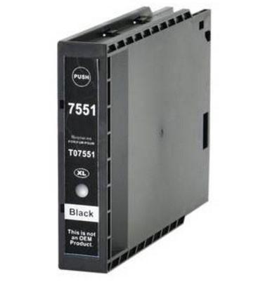 Tinteiro Epson Compatível T7551 / T7561 - Preto