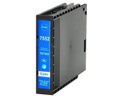 Tinteiro Epson Compatível T7552 / T7562 - Azul