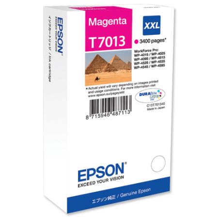 Tinteiro Epson T7013 Magenta Original (C13T70134010)